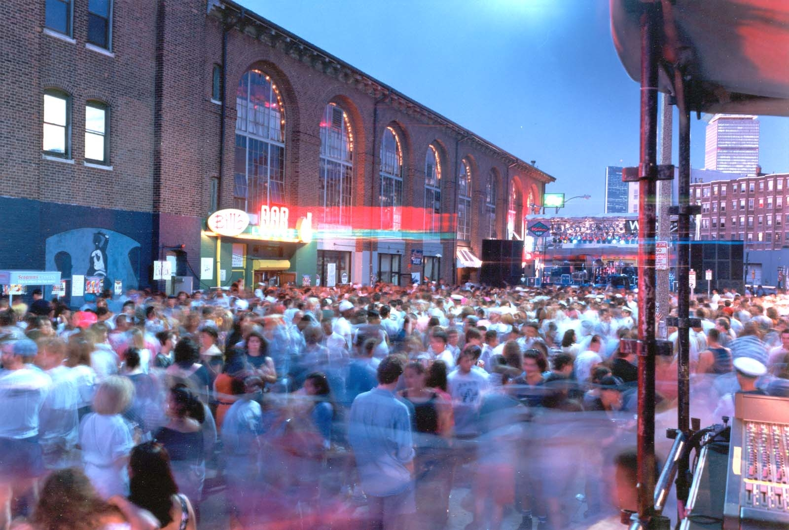 ... transformed this small street into Boston's premier nightclub location