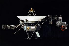 NASA photograph of one of the two identical Voyager space probes Voyager 1 and Voyager 2.