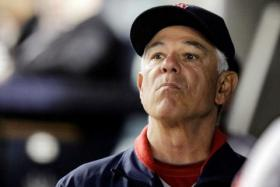 Former Red Sox Manager Bobby Valentine.