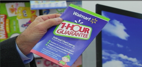 Walmart's Black Friday blandishments include a promise that, if any special discount item is sold out, eligible customers will receive it in time for Christmas.