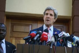 U.S. Sen. John Kerry