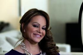 Mexican-American singer Jenni Rivera, who died in a plane crash on Dec. 9, 2012.