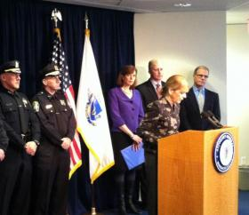 Attorney General Martha Coakley files a bill to expand wiretapping laws.