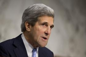 Newly confirmed Secretary of State John Kerry.