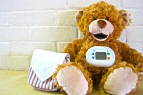 Jerry the Bear — an internet-connected toy that teaches children about their type 1 diabetes.