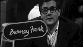 Then-state Rep. Barney Frank appears on Club 44 in 1976.