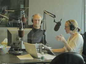 Jim Braude and Margery Eagan occupy Boston Public Radio in January.