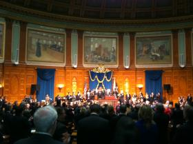 The Massachusetts Legislature convenes for the 2013 State of the Commonwealth address.