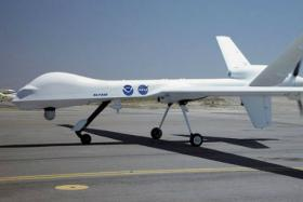 The Predator drone is one of many unmanned aerial vehicles in the US military's arsenal. The vehicles can be in flight halfway across the world by a US-based controller.