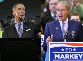 U.S. Rep. Stephen Lynch and U.S. Rep. Ed Markey