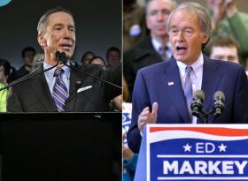 U.S. Rep. Stephen Lynch and U.S. Rep. Ed Markey