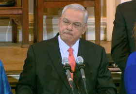 Boston Mayor Tom Menino announces he will not seek re-election.