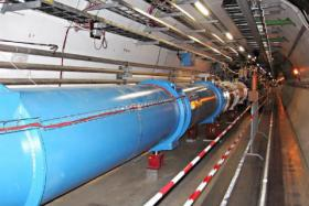 The Large Hadron Collider at a Swiss research laboratory. Scientists at the lab recently confirmed the existence of the Higgs boson — the so-called God particle.