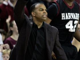 Harvard University basketball coach Tommy Amaker