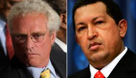 Joe Kennedy II and Hugo Chavez