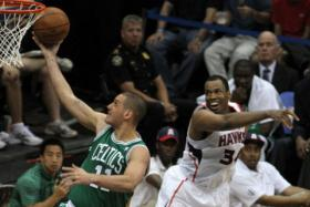 Jason Collins, right, announced on Monday that he is gay. Collins at one time played for the Celtics, and most recently played for the Washington Wizards.