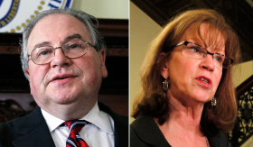 House Speaker Robert DeLeo and Senate President Therese Murray