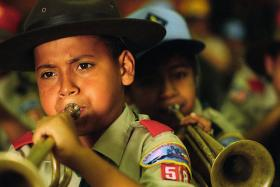 This week the Boy Scouts of America voted in favor of allowing gay members under the age of eighteen.
