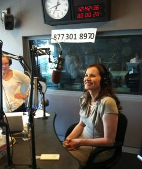 Actor Geena Davis also joined Jim Braude and Margery Eagan on WGBH's Boston Public Radio on Tuesday. Hear the interview here: wgbhnews.org/bpr