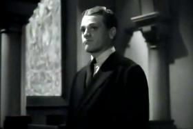 James Cagney plays Rocky Sullivan in the 1938 film Angels With Dirty Faces. Sullivan is ratted out by a childhood friend. Film critic Garen Daly said the film is a classic informant movie.