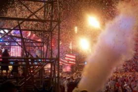 Confetti explodes during the 1812 Overture at the 2012 Independence Day celebrations in Boston. This year the event won't be nationally televised.