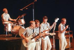 The Beach Boys, one of many old-time bands still popular across generations.