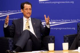 Former Rep. Anthony Weiner found himself in hot water again Tuesday about some of his online activities.