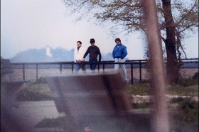 Whitey Bulger, Kevin Weeks and Steve Flemmi meet at Castle Island