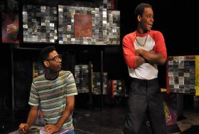"A scene from ""How We Got On,"" a new play from Company One."