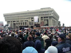 Boston's City Hall.