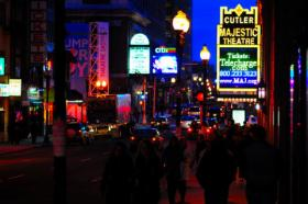 The Theater District in Boston is a vibrant part of city nightlife, and a great economic driver for the area. Boston mayoral candidates discussed the importance of the area Monday night.
