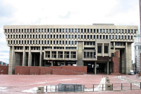 Built in 1968, the Boston City Hall is an example of Brutalist architecture. Many Bostonians think the building is an eyesore worth replacing.