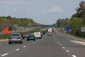 State Rep. Dan Winslow wants to raise the speed limit on Massachusetts interstates from 65 to 70 miles per hour.