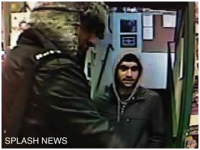 Three days before the bombing, Tamerlan (seen on the left) and Dzhokhar Tsarnaev visited the Wai Kru gym in Allston with a third, unidentified individual (seen on the right).
