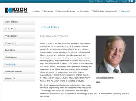 Koch Industries Website