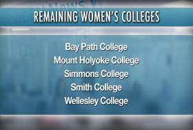 Five women's colleges remain in Massachusetts.