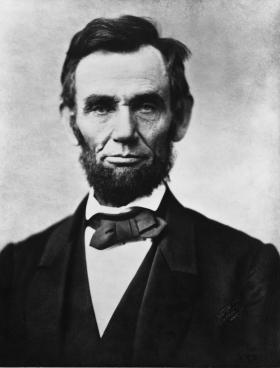 Abraham Lincoln, our nation's 16th president.