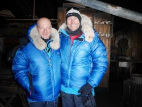 British explorer Ben Saunders and his teammate Tarka L'Herpiniere are recreating Captain Robert Scott's fatal 1911-1912 expedition to the South Pole.