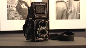 Photographer Vivian Maier used a Rolleiflex camera, which was popular among the 1950s and 1960s French photographers she admired in museums.