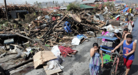 The Philippines, one of the most disaster-prone countries in the world, was hit by a Typhoon Haiyan's 195 mph winds on Friday. It could cost as much as $70 million to rebuild what was damaged.