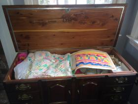 Greater Boston guest Marianne LeBlanc owns a hope chest similar to the one that suffocated two children in Franklin, Mass.