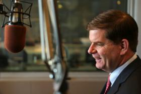 Mayor Marty Walsh joined Jim and Margery on Friday for the first of many monthly segments on Boston Public Radio.