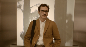 "Joaquin Phoenix plays a man who falls in love with his operating system in ""Her,"" the new film by Spike Jonze."