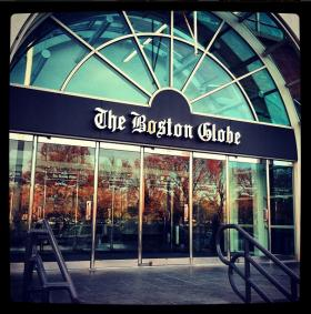 Boston Globe headquarters on Morrissey Blvd.