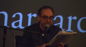 Gary Shteyngart at the Brattle Theater