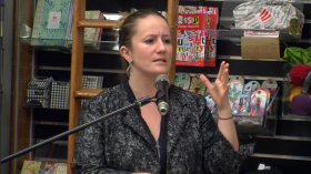 danah boyd at Harvard Book Store