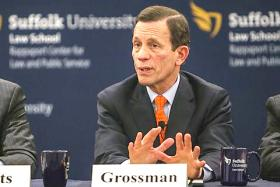Mass. Treas. Steve Grossman joined Jim and Margery for a second interview about his bid for governor.