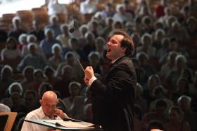 Andris Nelsons takes the helm of the Boston Symphony Orchestra.