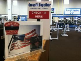 The gym in South Boston where Kennedy was a CrossFit coach.