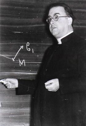 Monseigneur Georges Henri Joseph Édouard Lemaître circa 1933